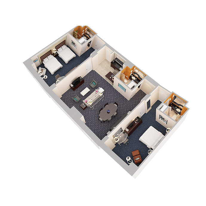 Hospitality Suite - Two Bedrooms - View 2