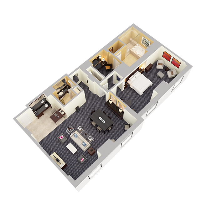 Signature Suite (One Bedroom) - View 2