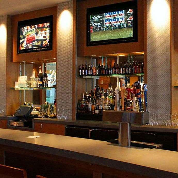 David's features 12 LCD TVs, local & craft beers