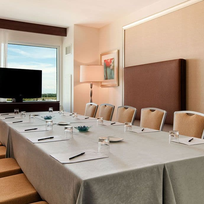 Hospitality breakout rooms