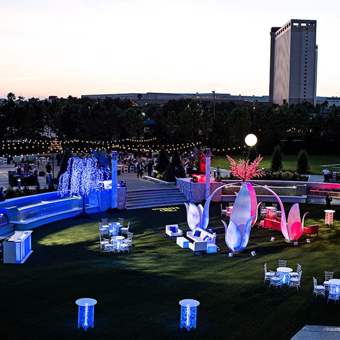 The Promenade offers the perfect backdrop for any themed event