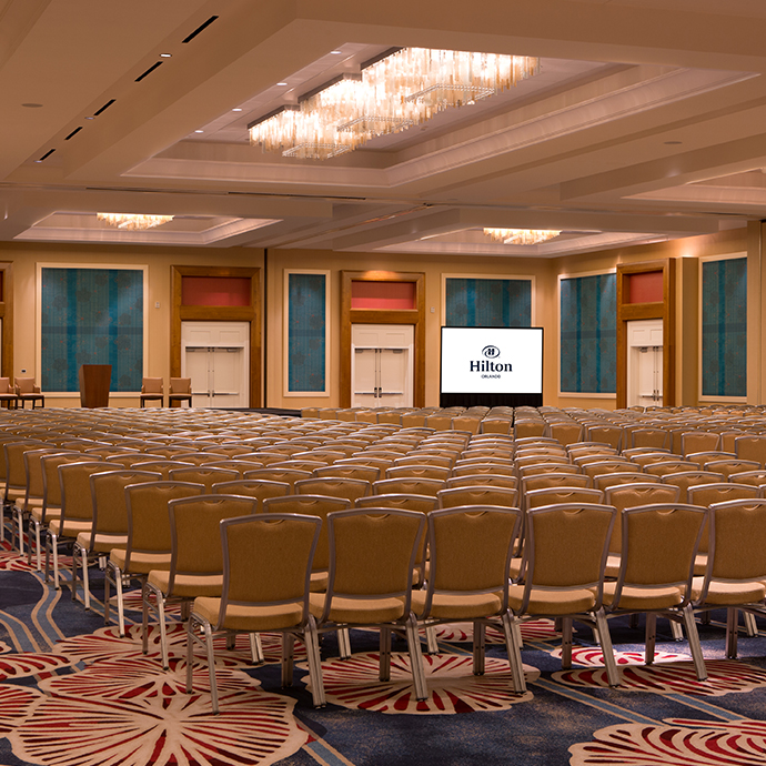 Florida Ballroom, 15,000 sq ft