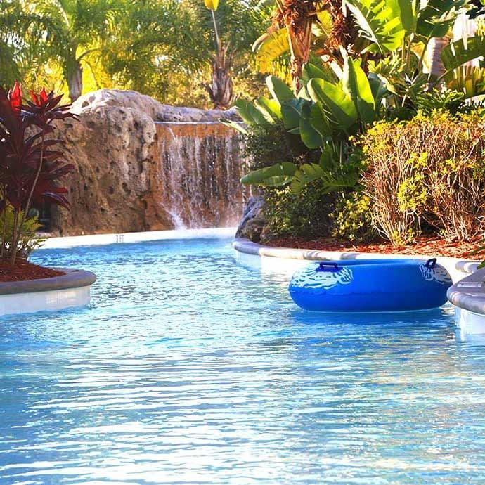 A vacation wouldn't be complete without being lazy on the lazy river