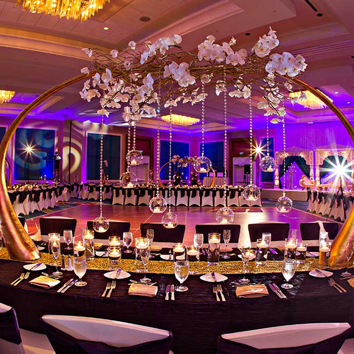 Hilton Orlando is an elegant setting for intimate or grand celebrations